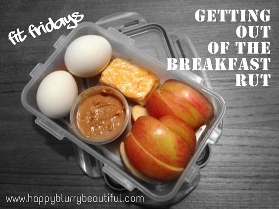 Meal prep idea: breakfast box - easy and yummy weekday lunches