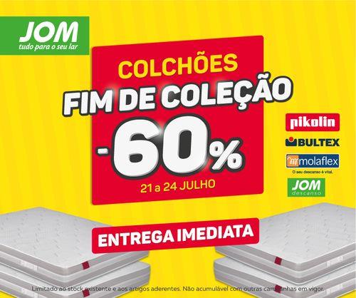 Promoções JOM - 60% desconto Fim de Semana - http://parapoupar.com/promocoes-jom-60-desconto-fim-de-semana/