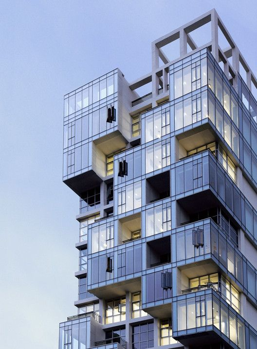 Vertical Ocean Maaps Architects Modern Architecture Building Facade Architecture Apartment Architecture