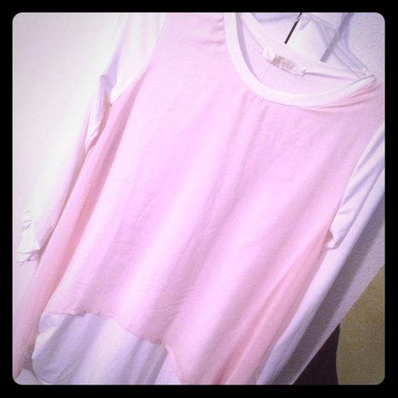 Baby Blush Blouse Brand new, runs small! love to bundle  Tops Blouses