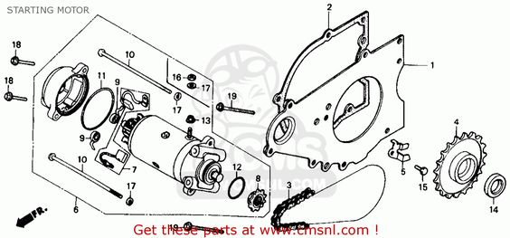 1986 honda rebel 250cc engine diagram