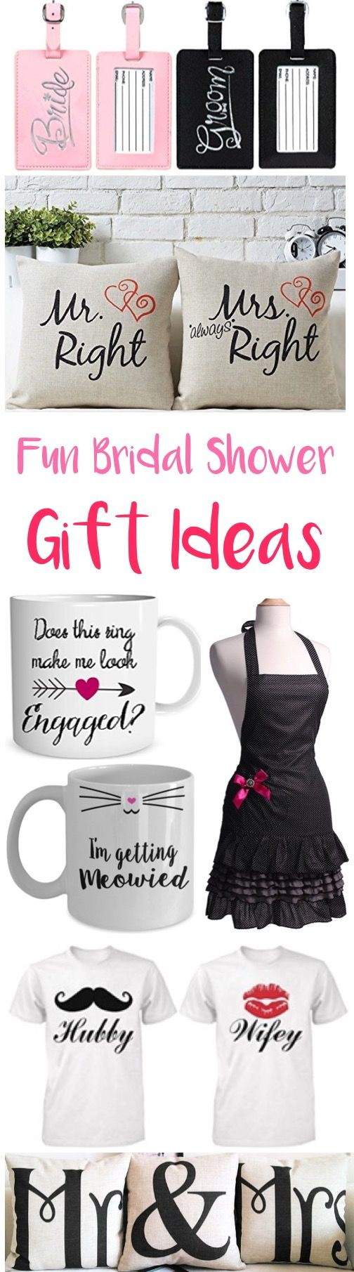 29 Bridal Shower Gifts for the Bride to Be!  So many fun gift ideas she'll LOVE! | TheFrugalGirls.com