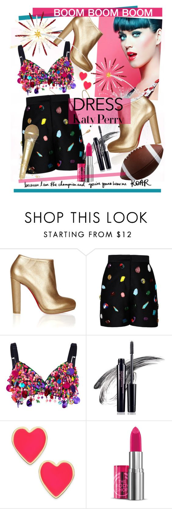 """Katy Perry"" by cutandpaste ❤ liked on Polyvore featuring Christian Louboutin, STELLA McCARTNEY, Dolce&Gabbana, Avon and Kate Spade"