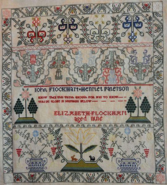 Elizabet Flochart :: Sampler Browse :: The Essamplaire
