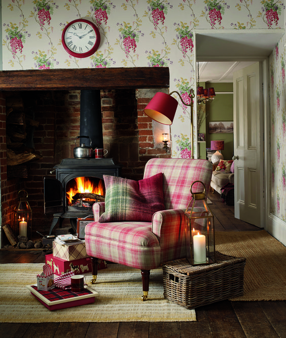 Laura Ashley, Fake Fireplace And Craft Rooms On Pinterest