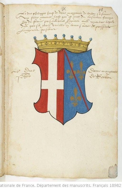 Armorial Colorie De La Maison De Savoie Et De Ses Alliances Depuis Berold Comte De Maurienne Jusqu Aux Enfants De Philippe Ii C Family Crest Savoy Heraldry