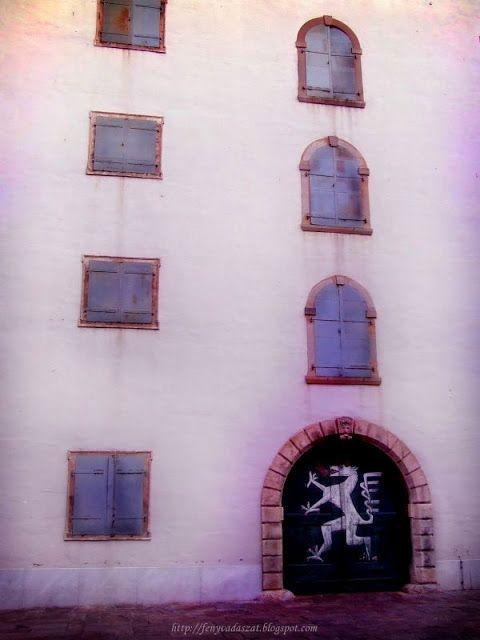 The white Dragon in Graz