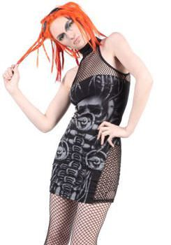 Lip Service Erotomechanics Halter Dress