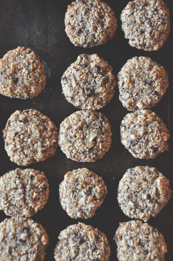 Chocolate Chip Cookies With Coconut Flakes