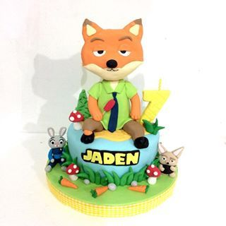 zootopia cake ideas - Google Search: