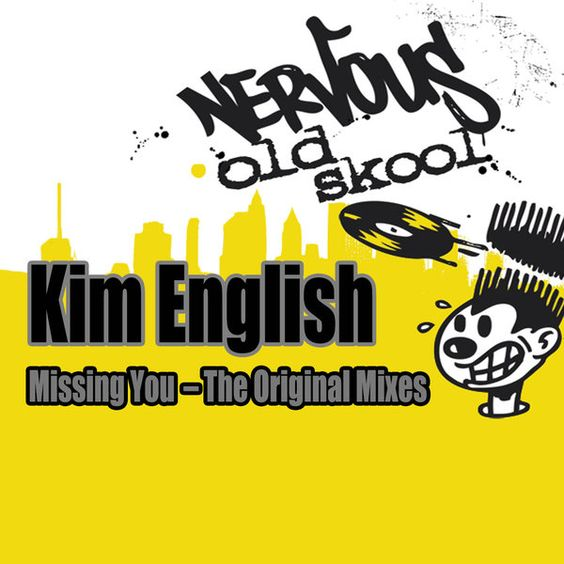 Kim English – Missing You (single cover art)