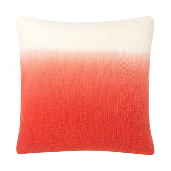 Red To White - Pillow