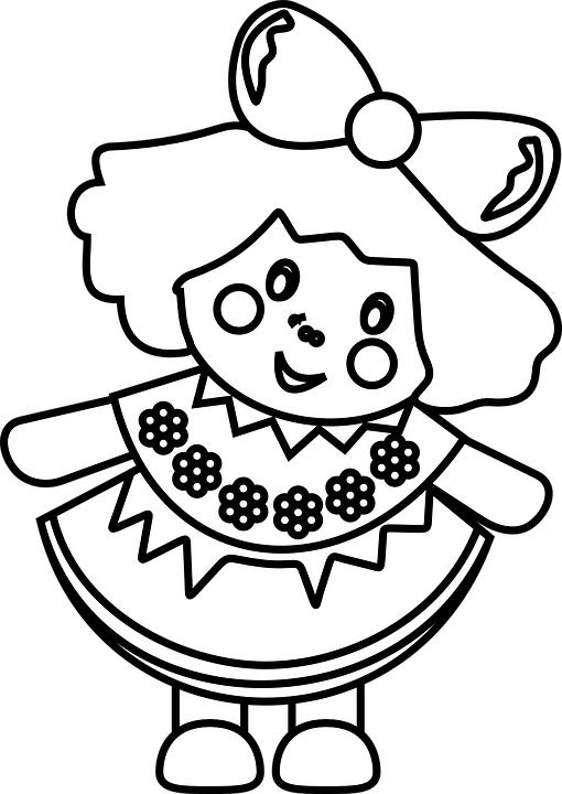 Doll Coloring Pages Best Coloring Pages For Kids Coloring Pages Coloring Pages For Kids Girl Dolls