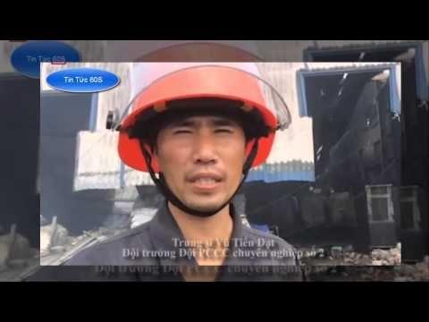Tin Tức 60S - 12 giờ dập lửa kho hoá chất ở Bình Dương !
