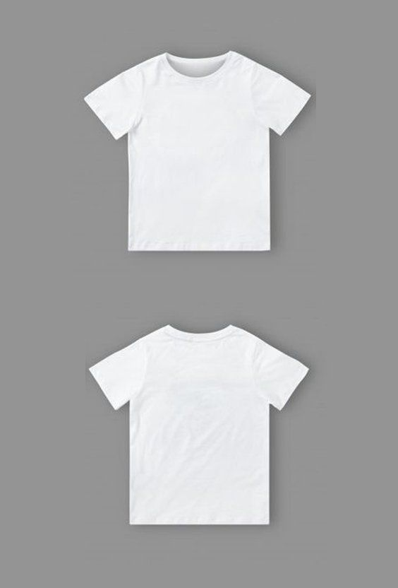 Download 10 Blank T Shirt Template Designs With Portrait Mode 03 Kids T Shirt Mockup Template In White Hd Wallpapers Wallpapers Download High Resolution Wallpa Kaos Desain Pakaian Baju Kaos