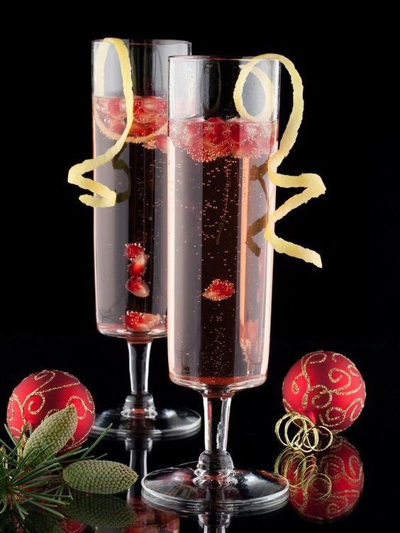 Cranberry Pomegranate Cocktail Recipe