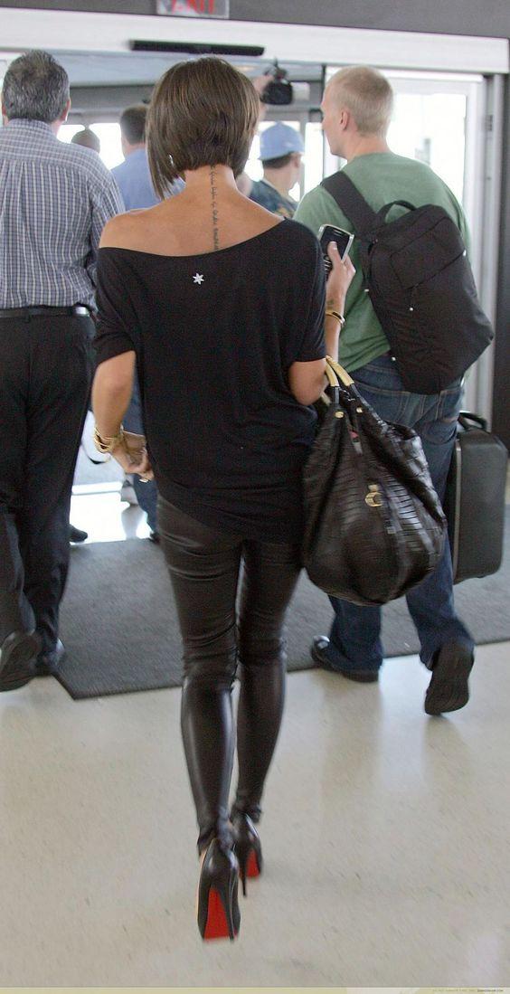 Enjoyable Victoria Beckham Viagem And Victoria On Pinterest Short Hairstyles Gunalazisus