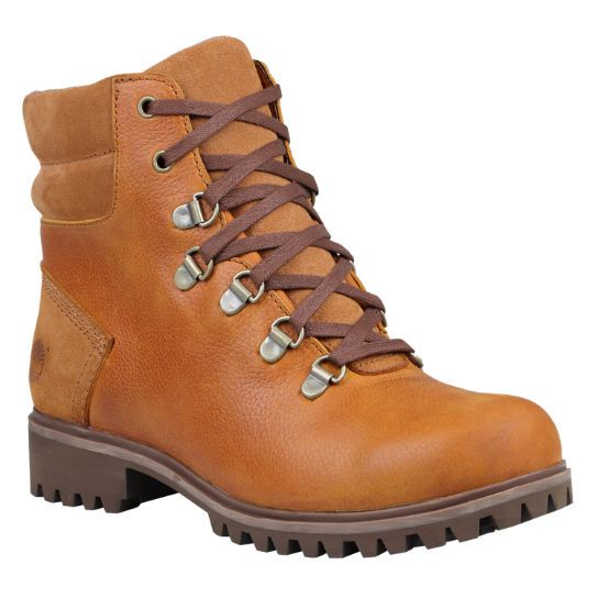 New Timberland-Womens-Flume-Hiking-Boot-Mid-Dark-Brown-Leather-18629