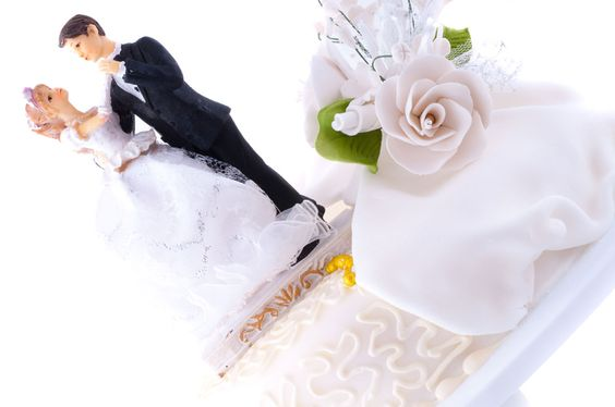 You may or may not know this, but the idea of the wedding cake and cake toppers is relatively new as far as the history of weddings goes.