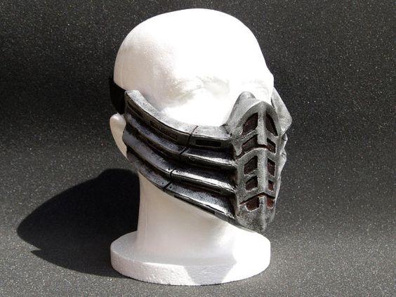 billiger kaufen, oder nachmachen    Mortal Kombat Scorpion Movie Cosplay mask  In von HiddenAssassins, £45.99