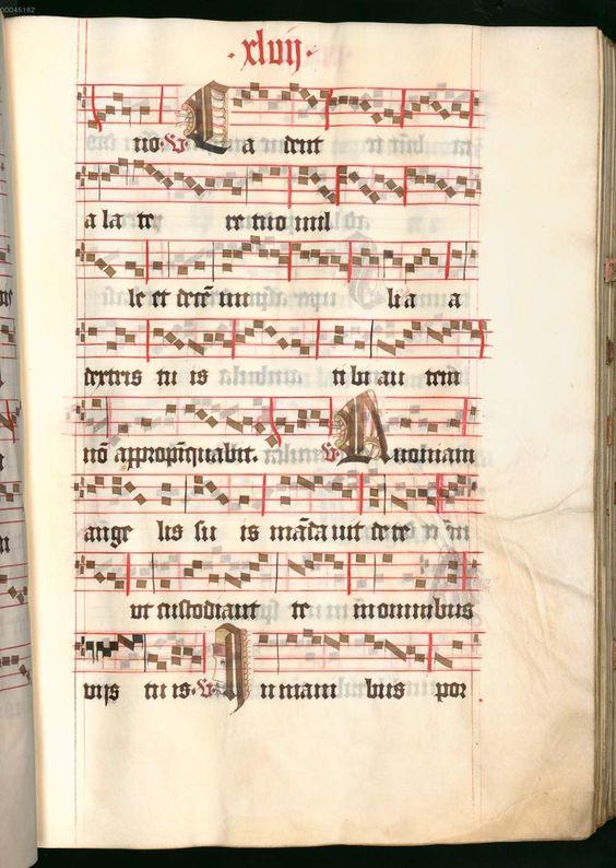 Missale, cum notis musicis et cum figuris literisque pictis Berthold Furtmeyr Clm 23032 [Regensburg], Ende 15. Jahrhundert Folio 47