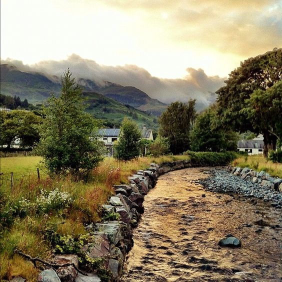 Cumbria, England. This is the Lake District, which is just as lovely as it looks.