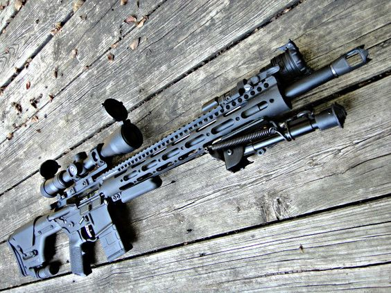 By dedicating the build of a rifle for this sole purpose, an AR-15 can become the top choice for a semi-automatic sniper system. Description from survivaloperations.com. I searched for this on bing.com/images