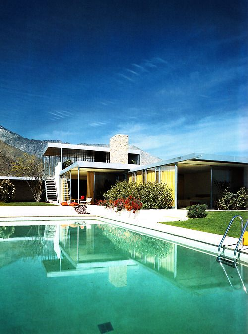 Kaufmann House by Richard Neutra: