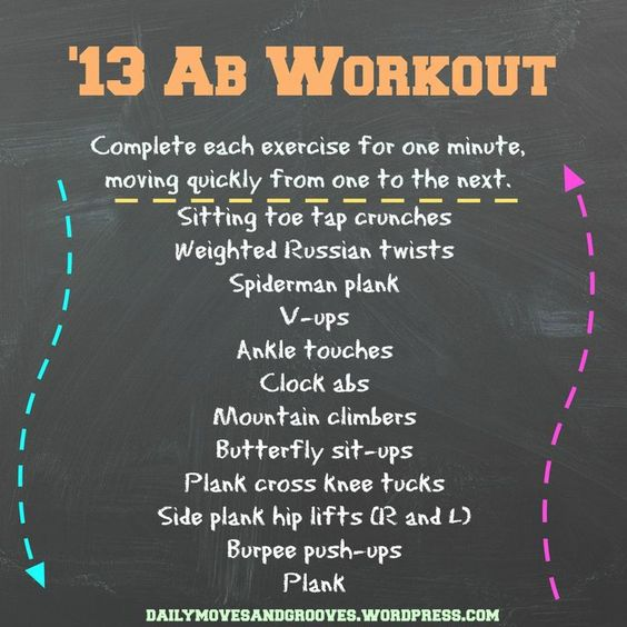Ab workout that will make your core burn!