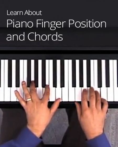 where position thumb piano