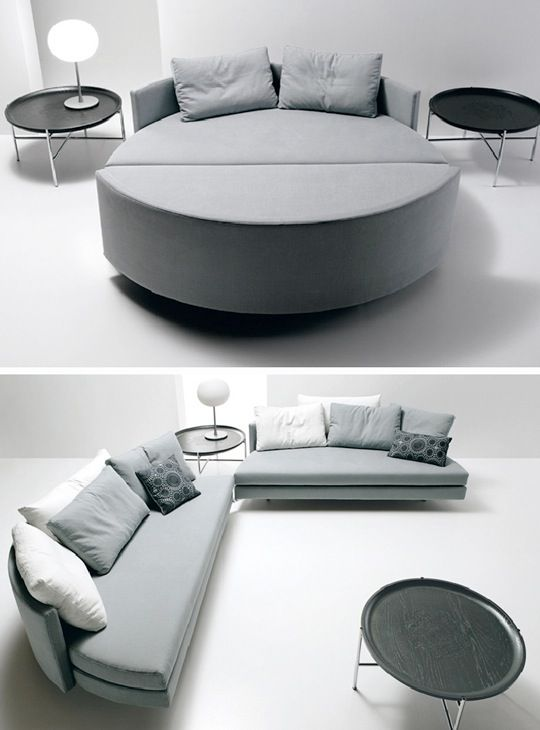 Round Beds, Round Mattresses & Round Sleeper Sofas