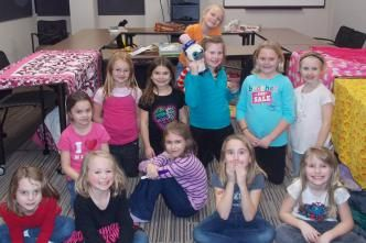 A night at Girl Scouts!