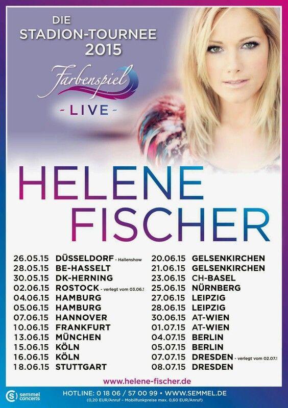 Helene Fischer Farbenspiel Live Die Stadiontournee Tourdata