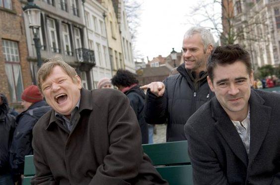In Bruges/ Brendan Gleeson, Martin McDonagh & Colin Farrell