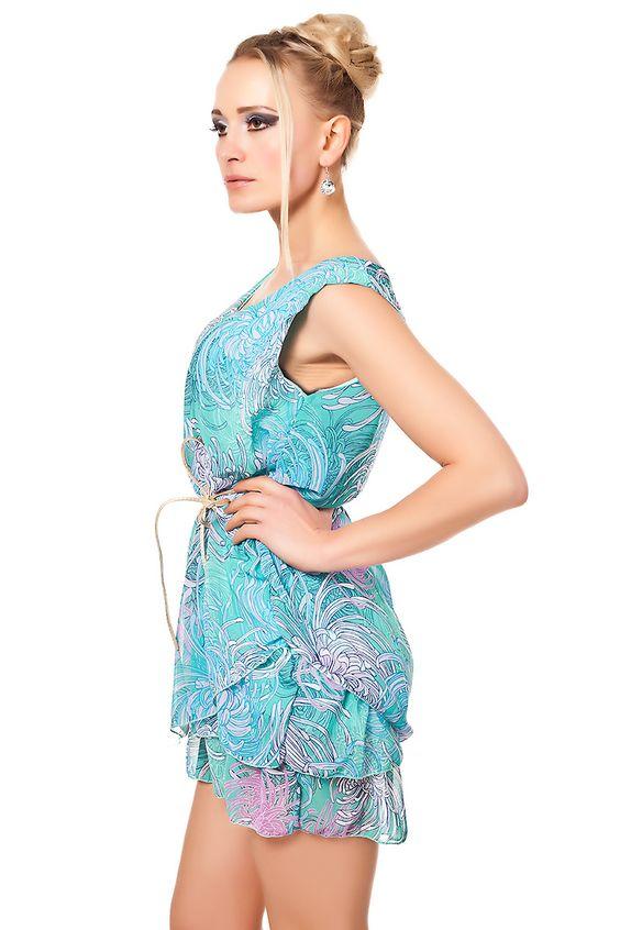 Minikleid in Floral Design