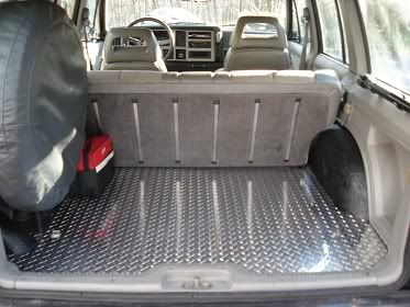 Cherokee diamond plate rear floor