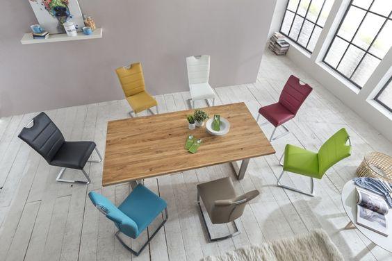 Tisch Esstisch Esszimmer Möbel Massiv Elkenroth Wirges Sofa Lagerverkauf Fabrikverkauf Polstermöbel Küche Stuhl Schwingstuhl