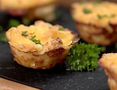 Garlic Herb Cheese Bombs take the humble dinner roll to a whole new level. We used pre-made refrigerated dough and were able to put these delicious dinner rolls on people's plates in under 15 minutes. They take very little prep and taste spectacular. To...