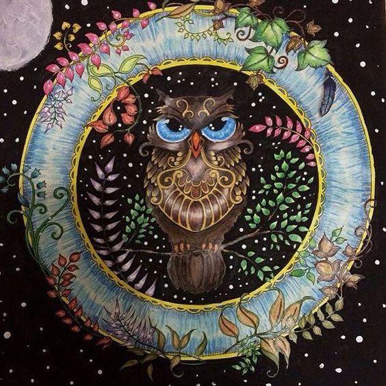 Minha amiga @carolrezende85 está concorrendo a um prêmio na @spiraloficial.  Uma mandala perfeita com uma coruja linda! Precisava mostrar aqui! Bjs Carolina e boa sorte!