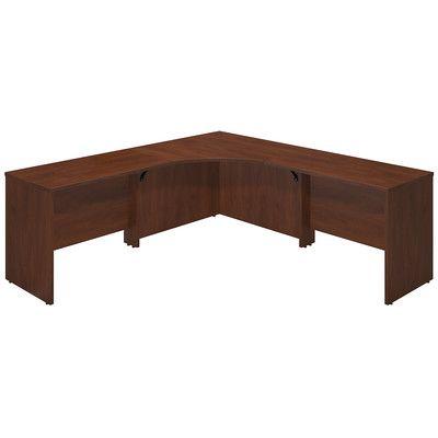 bush business furniture series c elite executive desk with 2 returns finish amazoncom bush furniture bow