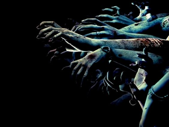 Scary Hands Royalty Free Stock Images - Image: 22434819
