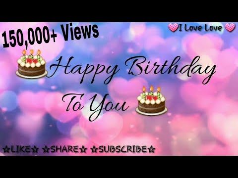 Fine Whatsapp Happy Birthday Status Video Youtube With Images Funny Birthday Cards Online Elaedamsfinfo