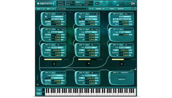 Komplete : Synths : Absynth 5 Neu | Produkte