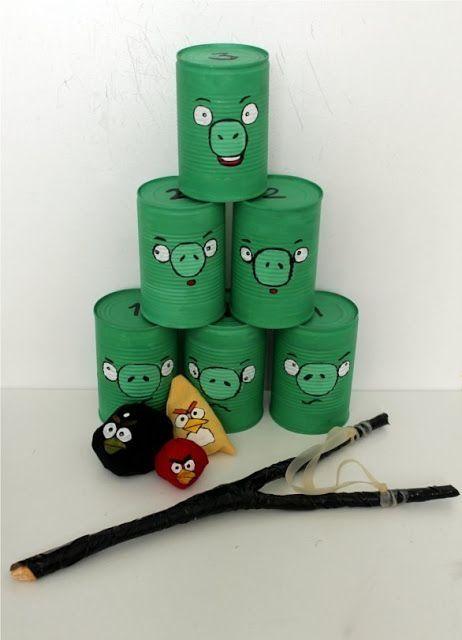 DIY #angrybirds outdoor game ANGRYBIRDS!!! by cara