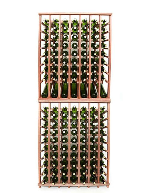 Wineracks Com Premium Series 7 Column Individual Bottle Kit Holds 140 Bottles Of Wine Dimensions 32 1 4 Wide X 78 Wine Bottle Rack Bottle Rack Wine Bottle