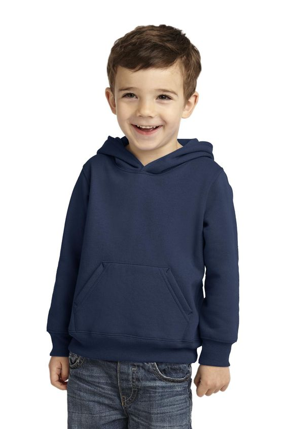 Precious Cargo Toddler Pullover Hooded Sweatshirt CAR78TH Navy