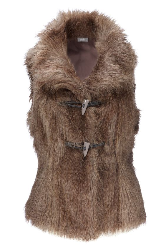 faux furs | ... Mackintosh black lace shirt and faux fur gilet on made in Chelsea