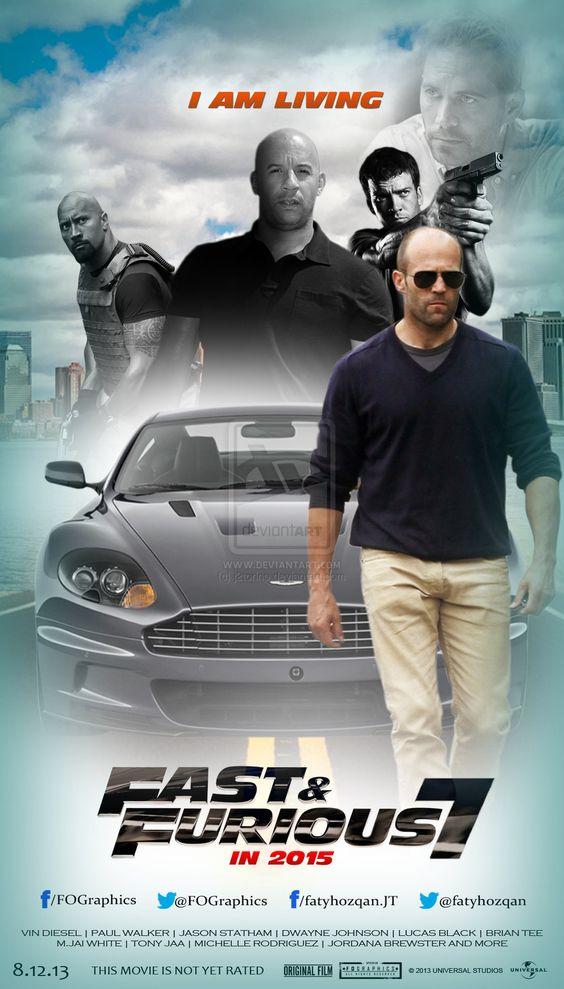 Furious 7 Movie Poster 2015