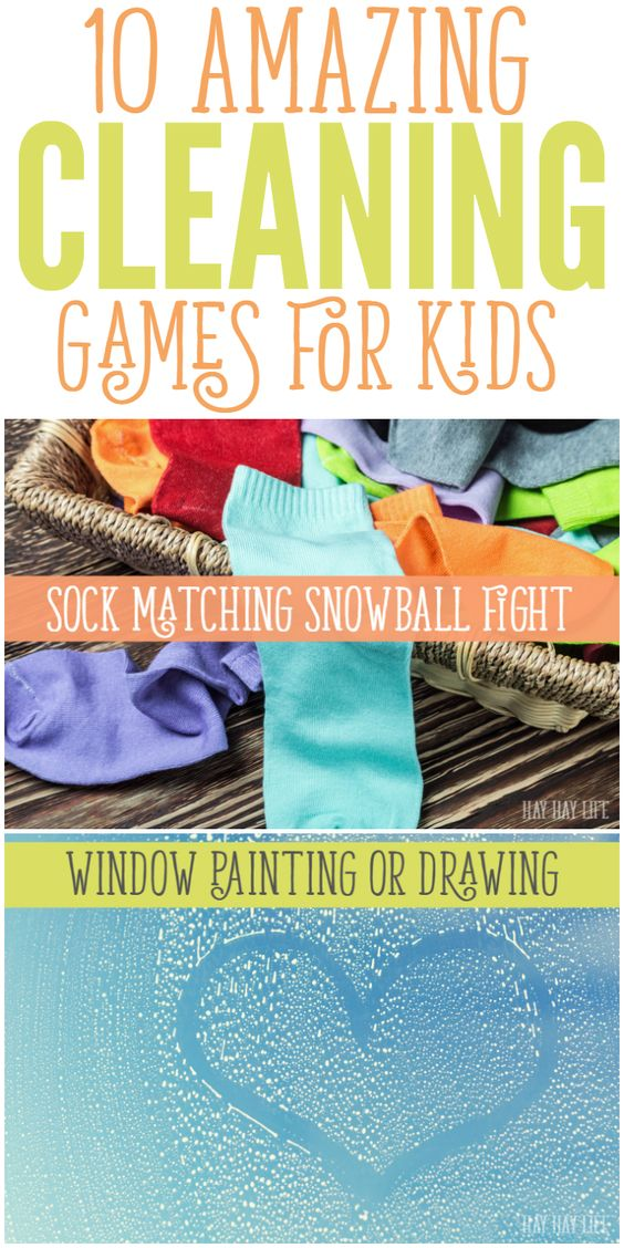 10 Amazing Cleaning Games for Kids