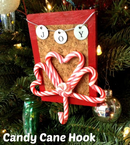 Candy cane hook cool idea by for S hooks for crafts